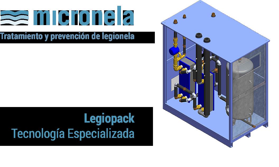 Micronela - Tratamiento y prevención de legionela